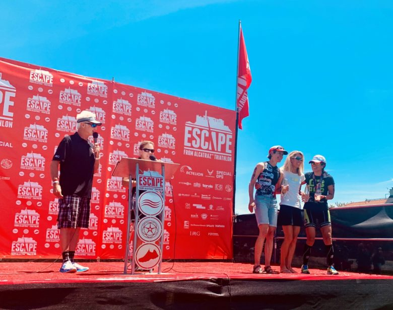 On the podium in 2019 - Age Group 2nd Place Finish!